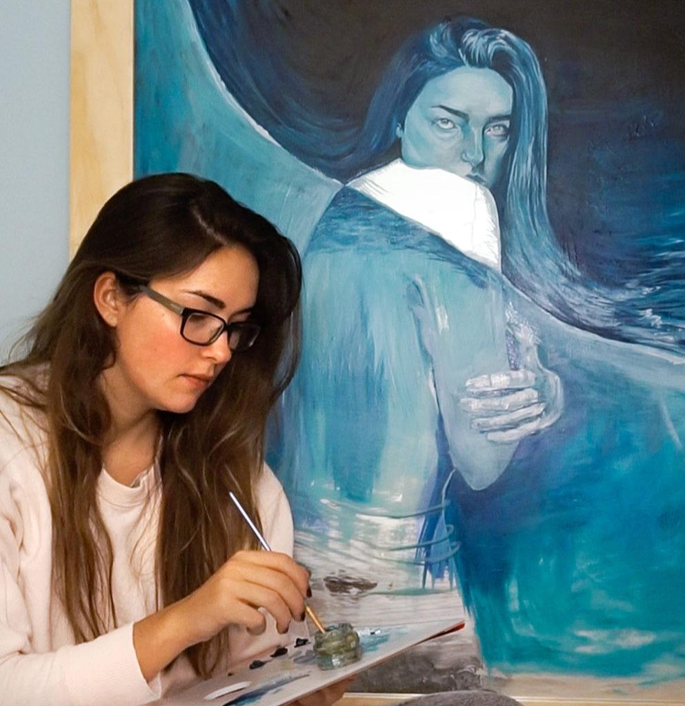 Halie Torris, artist
