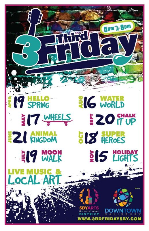 3rd Friday 2019 Lineup