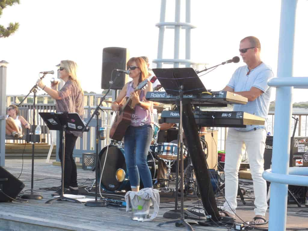Concert at Sunset Park in Ocean City