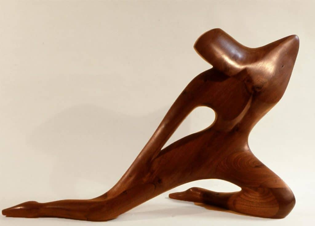 Kneeling Figure by David Stevens
