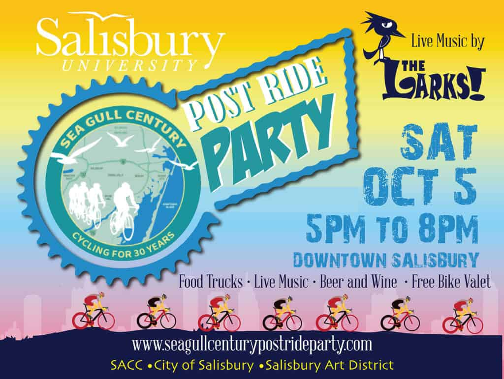 Post Ride Party Graphic