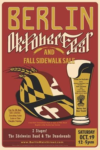 Berlin Oktoberfest Poster