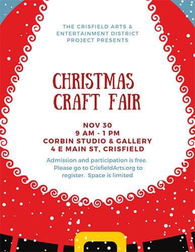 Christmas Craft Fair in Crisfield