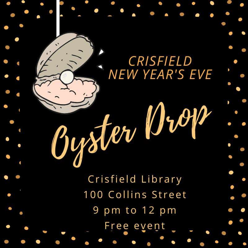 Oyster Drop Flyer