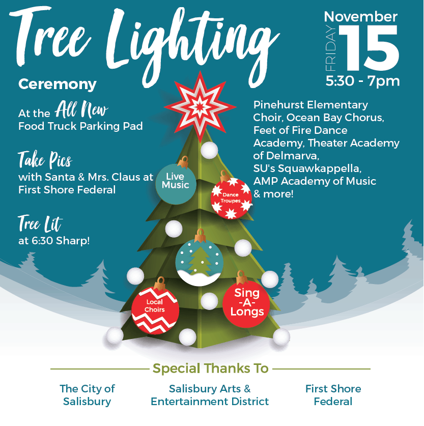 Holiday Tree Lighting in Salisbury