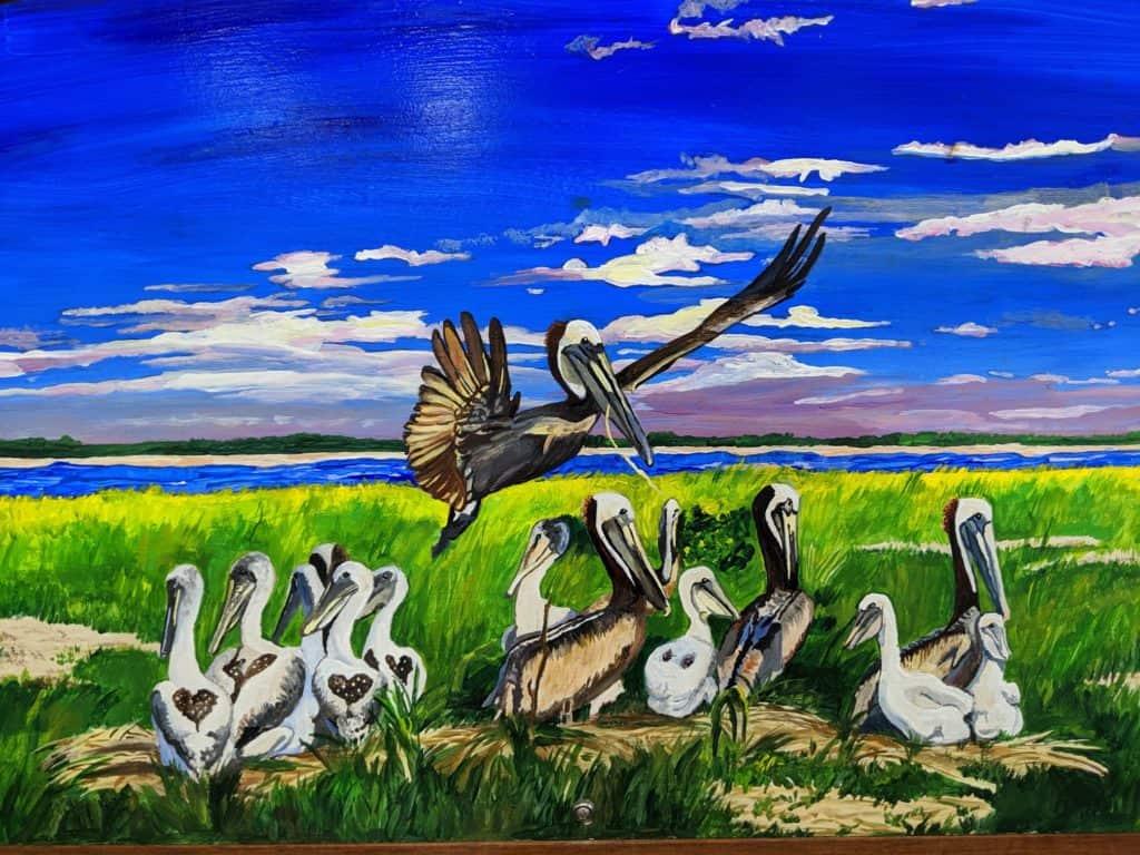 Pelican Bench