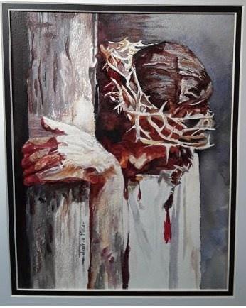 Christ Portrait, Jackie Miller