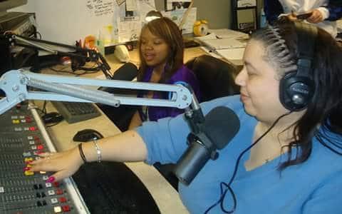 Lisa Edmunds on the radio